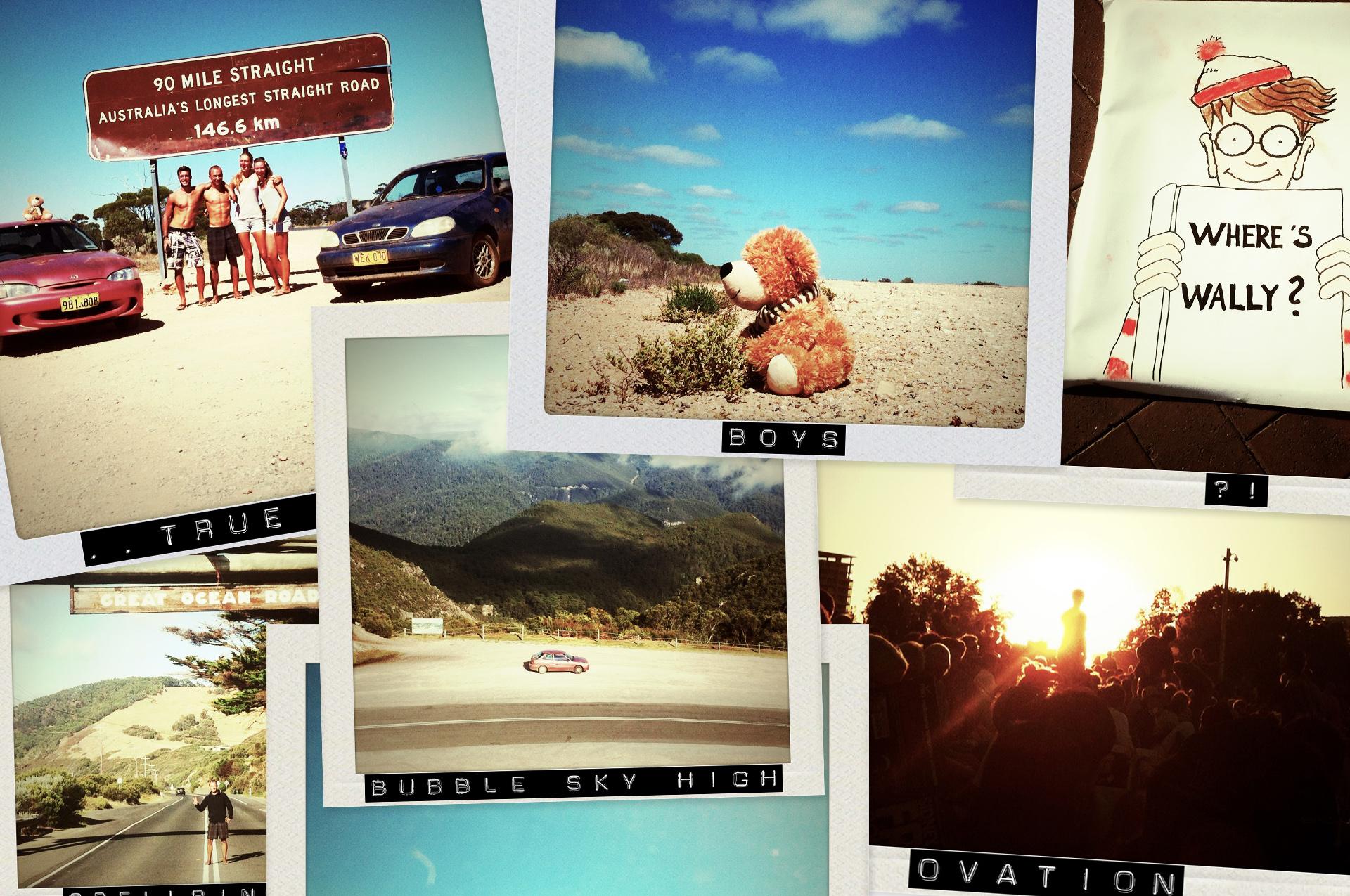 Polaroid Pictures - Australia